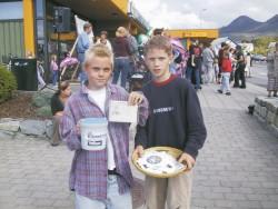 Levi og Fredrik